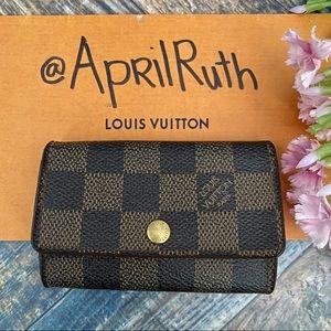 Louis Vuitton - 6 Key Holder Damier Ebene #2